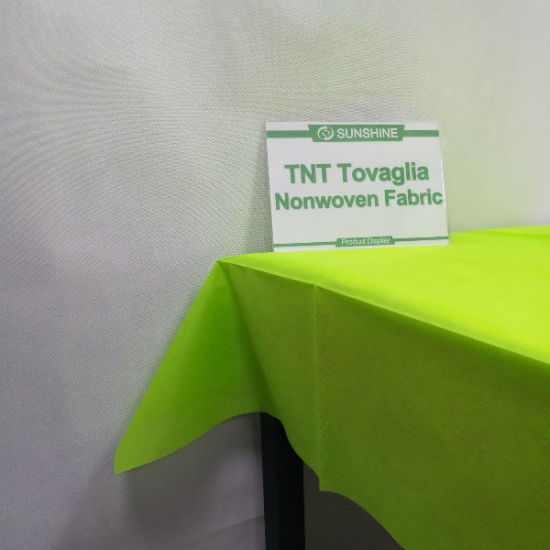 Nonwoven /TNT Spunbond Nonwoven Fabric Used for Tablecloth