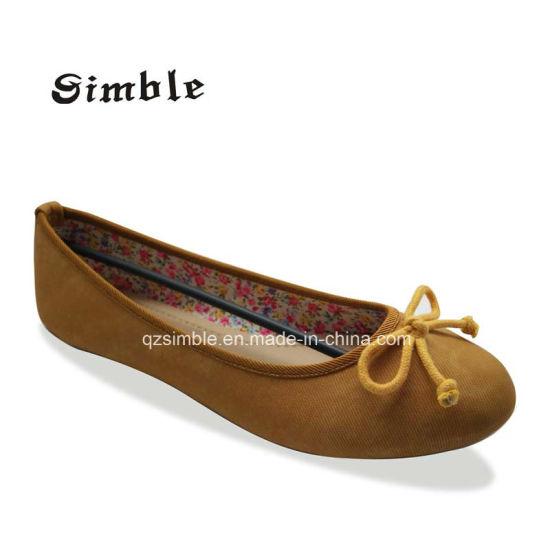 New Design Shoes Flat Heel Latin Dance Casual Ballet Shoes