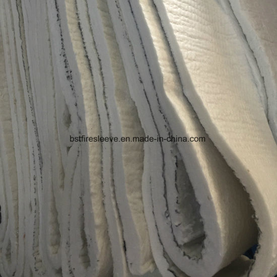 High Temperature Basalt Fiber Insulation Wool Blanket Needle Felt pictures & photos