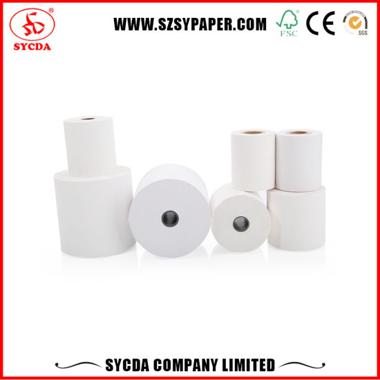 Black Color Thermal Image Quality Thermal Paper