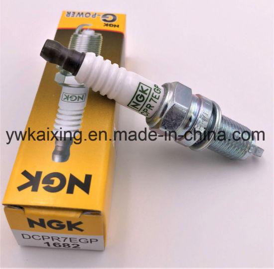 For Spark Plug NGK Laser Platinum Resistor # DCPR 7 E # 3932 # Pre-Gapped