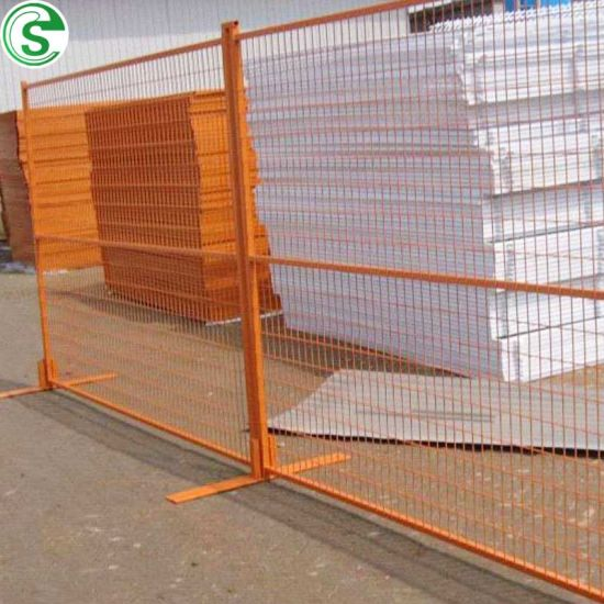 Canada Standard Free Standing Powder Coated Portable Fence