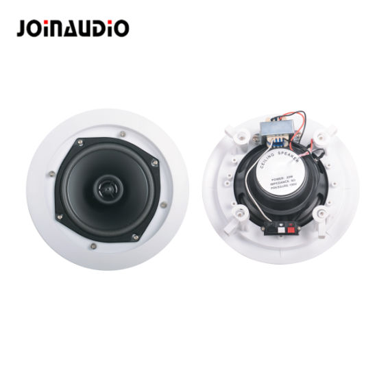2-Way Ceiling Speaker with Transformer and Crossover (MCF108-4T)