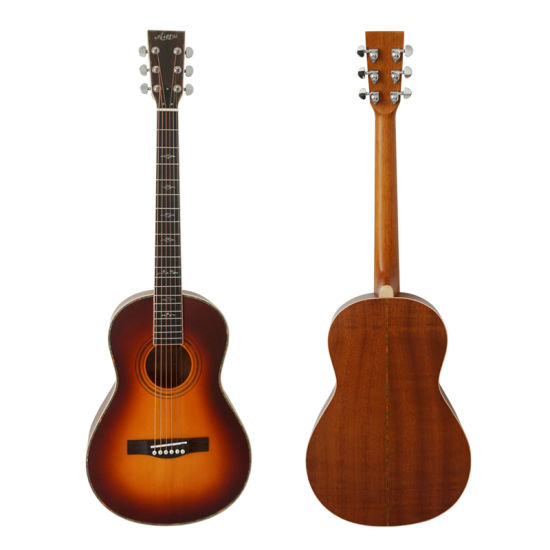 China Aiersi Brand Replica 1895 O-28 Parlor Acoustic Parlor
