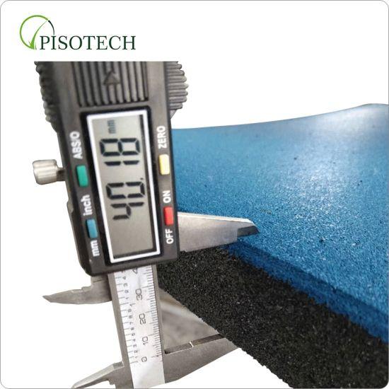 Outdoor/Indoor Rubber Flooring/Rubber Floor Tile with SGS Passed