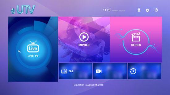 Best USA Eutv IPTV Subscription IPTV Receiver UK / Arabic IPTV Provider  with Resell Panel Arabic IPTV