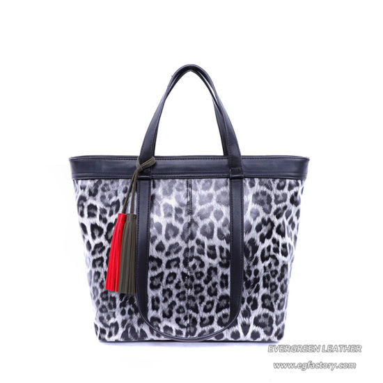 Ladies Large Capacity Beautiful Leopard Print Fashion Wholesale Handbag  Sh755 079684827bce2
