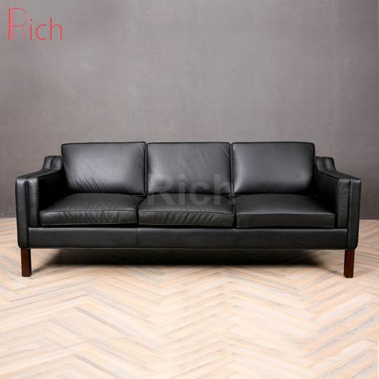 Home Furniture Modern Leather PU Sofa Living Room Furniture 3 Seat