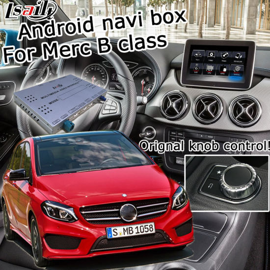 China Lsailt Android GPS Navigation System for Mercedes Benz B Class