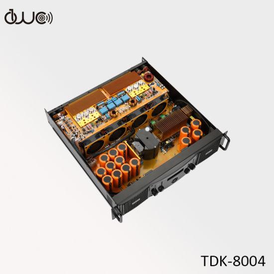 4 Channel 2u 4X800W DJ Professional Audio Power Amplifier Price