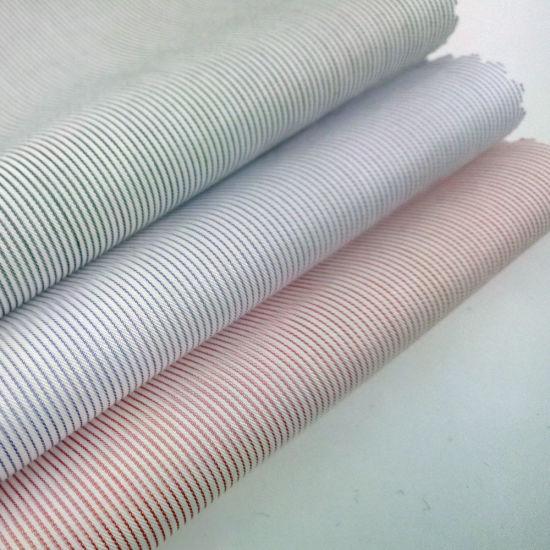 Ready Stock 70s La Classic Stripe Cotton Shirting Fabric
