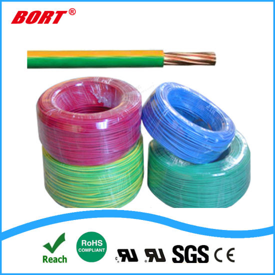 Copper Wire Halogen Free Cable with Xlpo 450/750V for Automotive Wire (GXL) Power Control Cable Direct Ground Line