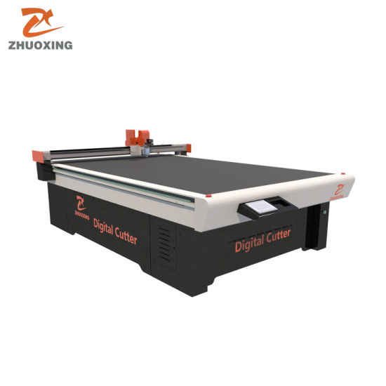 PVC Board Kt Foam Board Acrylic CNC Advertising Material Cutting Machine Digital Cutter with Milling Tool