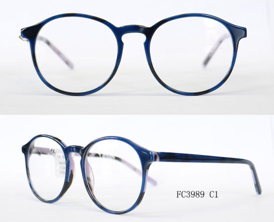 2fbd564ff738 China Round Frames Popular Glasses Free Samples Acetate with (Ce ...
