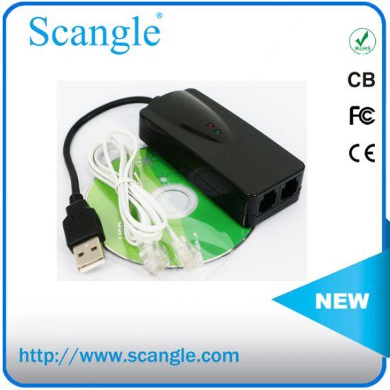 China USB Mini 56K Fax Modem External Support Windows 2000/XP/Vista