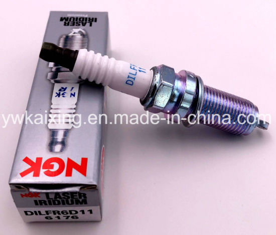 NGK LASER IRIDIUM Iridium Spark Plugs DILFR6D11 6176 Set of 6