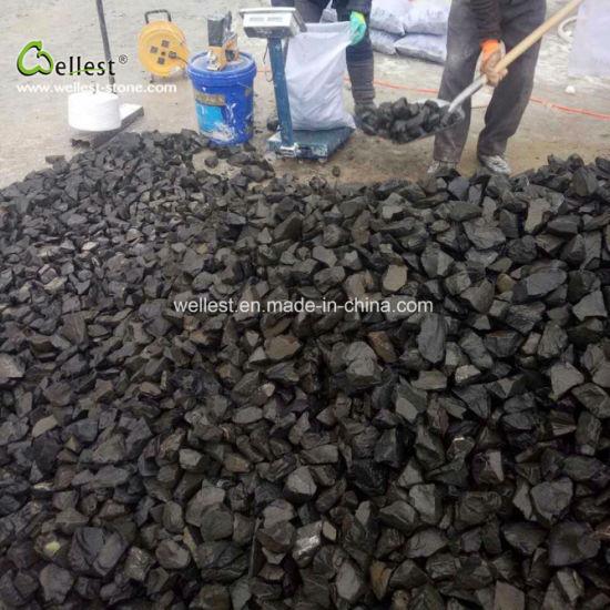 Rough Finish Black Gravel Stone