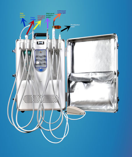 Huaer Conveydent Suitcase Portable Mobile Dental Unit