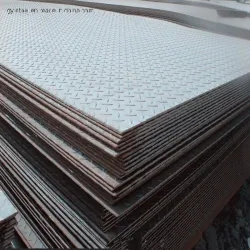 2mm Thick Diamond Pattern Steel Checkered Steel Plate