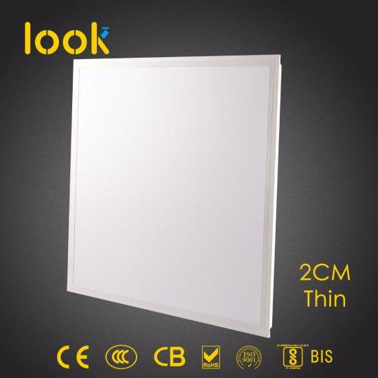 50W 65W Thin LED Panel Light Pendant Energy Saving Lamp