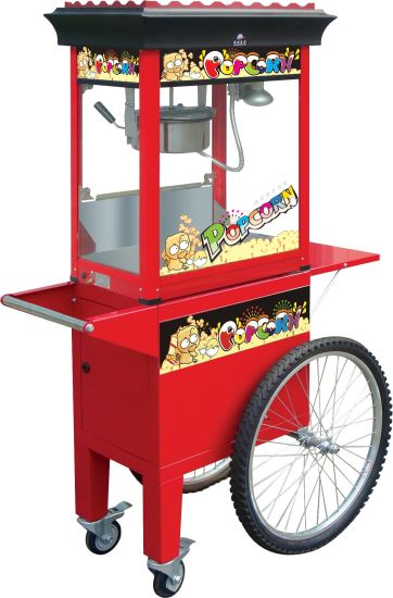 Hot Sale 8 Oz Popcorn Machine with Cart pictures & photos