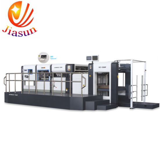 China Bobst Type Manual Automatic Die Cutting Machine With Stripping
