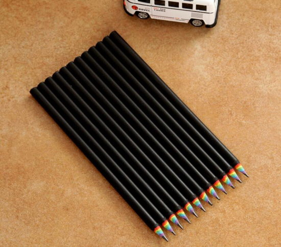 Rainbow Paper Pencils Rainbow Design Pencil for Kids School Office Supplies pictures & photos
