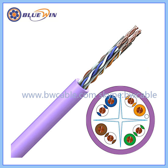 China CAT6 Twisted Pair Cable with RJ45 Connectors Belden Twisted ...