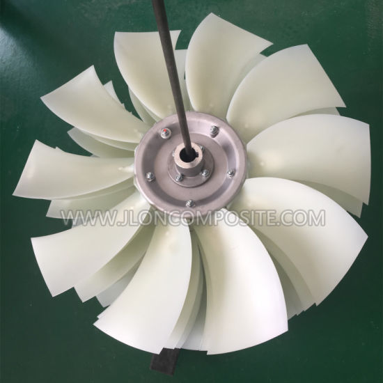 Pag Sickle Blade Axial Impeller for Engineering Machinery Cooling