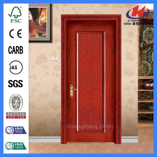 Prehung Single French Door Hanging Prehung Interior Door Wood Veneer For  Door