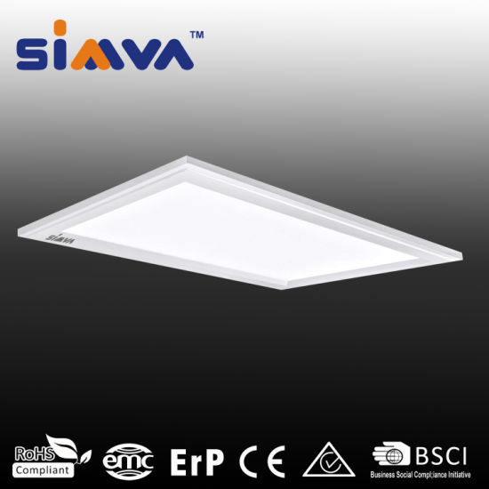 Simva LED Panel Light Dimmable 1*2FT 24W 2000lm 3000-6500K Ra80 IC Driver PF0.5 Flicking Free IP20 200deg with Ce Approved