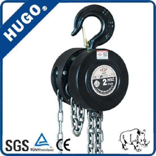 10 Ton Heavy Duty Manual Chain Block Wholesale Chain Hoist pictures & photos