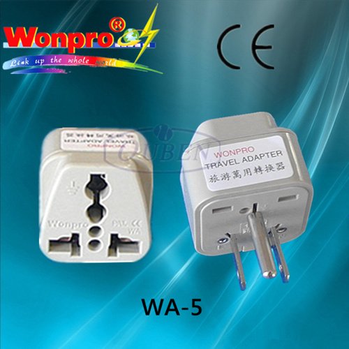 Universal Travel Adaptor - Socket, Plug (WA-6) pictures & photos