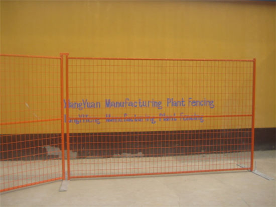High Visibility Welded Temporary Fencing pictures & photos