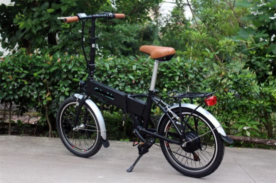 Ce ISO9001 Certificate Foldable Electric Bike E-Bike Ebike pictures & photos