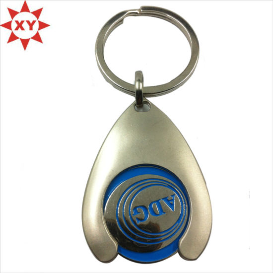 2015 Promotion Fashion Rotation Metal Keychain pictures & photos