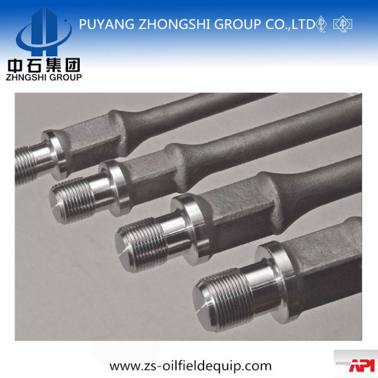 API Oil Production Solid Steel Sucker Rod pictures & photos