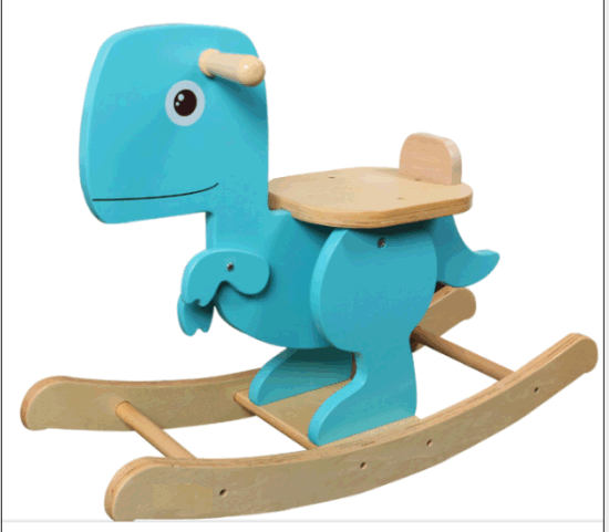 Wooden Rocking Horse- Dinosaur/Baby Toy