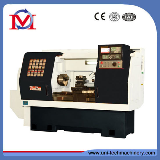 Compact Automatic CNC Lathe with Inclined Bed (HCl400)