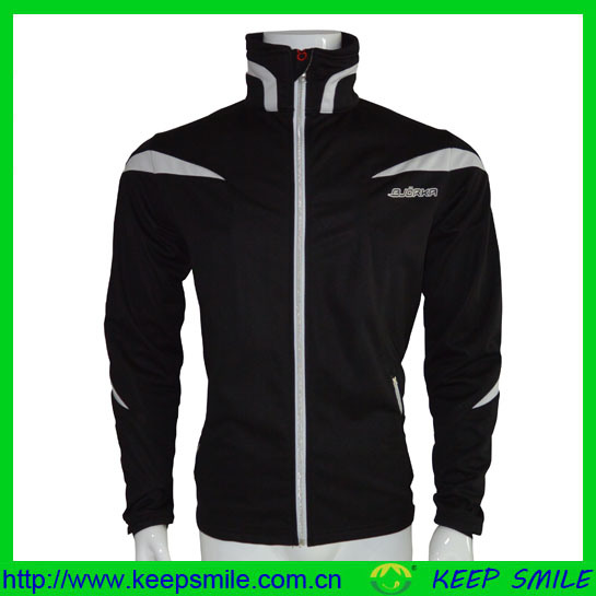 Custom Men's Winter Windproof Breathable Cycling Garment for Coat