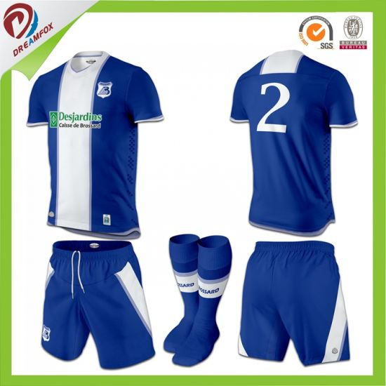 Sublimation Custom Soccer Uniforms Football Jersey Design for Men and Women 9cf5b17fc