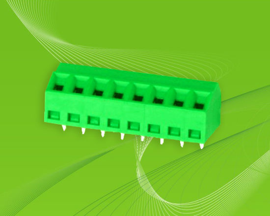 with 45angle Wire Direction PCB Screw Terminal Block Connector