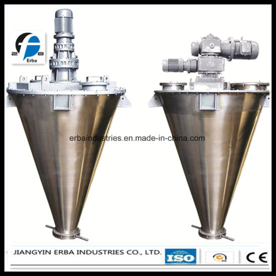 Model Shj Series Double Spiral Cone Shaped Mixer