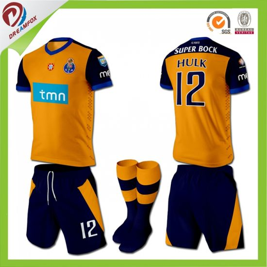 Sublimation Custom Soccer Uniforms Football Jersey Design for Men and Women pictures & photos