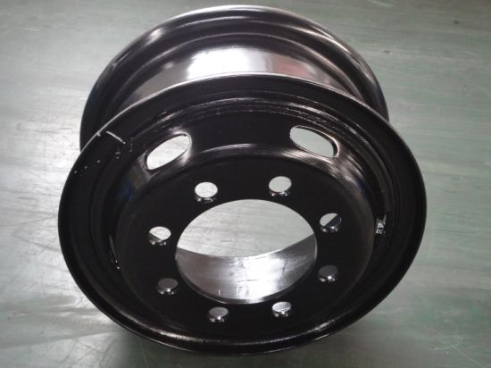 Trailer Steel Wheel Rim/7.5-20/China Made High Quality/Tube/Tubeless Rims