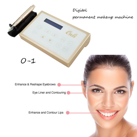 Digital Permanet Makeup Machine Tattoo Power Supply Touch-Screen System pictures & photos
