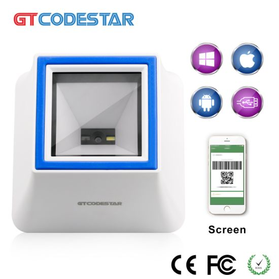 China E-Payment Paying Box Alipay/Wechat Pay 2D Barcode