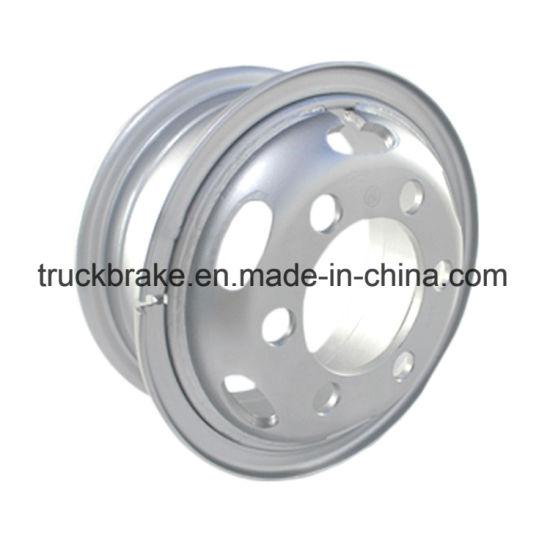 China Factory Sale Truck Accessories Steel Tube Wheel Rim 6 0X16-750