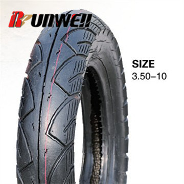 Motorcycle Scooter Tyres 3.50-10 3.50X10 pictures & photos