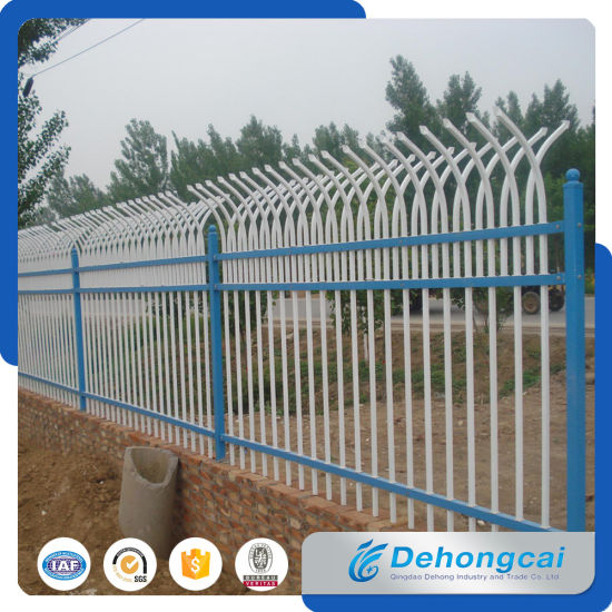 Beautiful Wrought Iron Fence / Garden Iron Fence From China pictures & photos